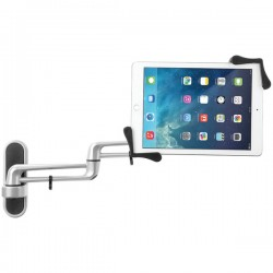CTA Digital - PAD-ATWM - CTA Digital Articulating Tablet Wall Mount - 13 Screen Support - Silver