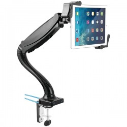 CTA Digital - PAD-TMUH - CTA Digital Mounting Arm for Tablet PC, iPad mini, iPad Air, iPad Pro - 13 Screen Support - Black