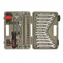 Cooper Tools / Crescent - CTK70MP - 70 pc Pro Tool Set 1/4'& 3/8' SAE & MM Skts, etc