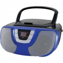 Osram - SRCD1025-BLUE - Sylvania SRCD1025-BLUE Portable CD Radio Boom Box (Blue)