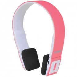 Osram - SBT214-PINK - Sylvania SBT214 Headset - Stereo - Pink - Wireless - Bluetooth - Over-the-head - Binaural - Supra-aural