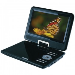 Osram - SDVD9000B2 - SYLVANIA(R) SDVD9000B2 9 Swivel-Screen Portable DVD Player