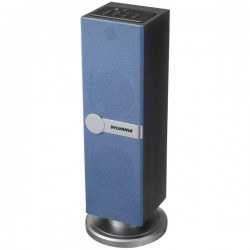 Osram - SP269-BLUE - Sylvania SP269-BLUE Bluetooth(R) Tabletop Tower Speaker (Blue)