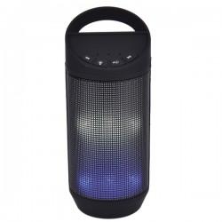Osram - SP606-BLACK - Sylvania SP606-BLACK Bluetooth(R) Neon Light-Up Speaker