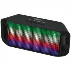 Osram - SP620-BLACK - Sylvania SP620-BLACK Bluetooth(R) Neon Light-Up Speaker