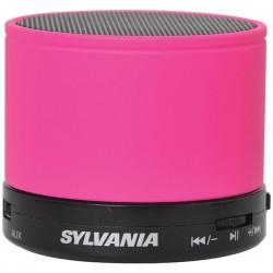 Osram - SP631-PINK - SYLVANIA(R) SP631-PINK Bluetooth(R) Portable Speaker (Pink)