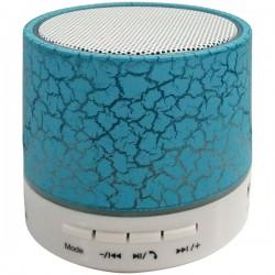 Osram - SP637-BLUE - Sylvania SP637-BLUE Bluetooth(R) Lighted Portable Speaker (Blue)