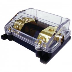 db Link - ANLFB01 - DB LINK ANLFB01 Gold 2-Position ANL Fuse Block