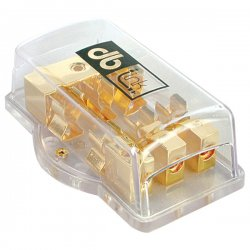db Link - FB438 - DB LINK FB438 Gold 3-Position AGU Fuse Block