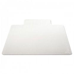 Deflect-O - CM13113COM - deflecto DuraMat 36 x 48 w/lip-Low Pile - Carpeted Floor - 48 Length x 36 Width - Lip Size 10 Length x 19 Width - Vinyl - Clear