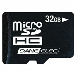 DANE-ELEC - DA-3IN1-32G-R - Gigastone 32 GB microSDHC - 1 Card - 60x Memory Speed
