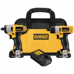 Dewalt - DCK210S2 - Dewalt 12 V Cordless Kit
