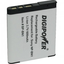DigiPower - BP-BN1A - DIGIPOWER(R) BP-BN1A Sony(R) NP-BN1 Digital Camera Replacement Battery