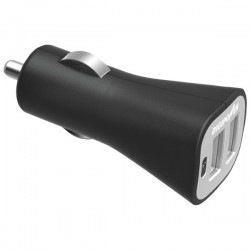 DigiPower - IS-PC2D - DIGIPOWER(R) IS-PC2D InstaSense(TM) 2.4-Amp Dual-USB Car Charger
