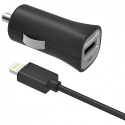 DigiPower - IS-PC2L - DigiPower Auto Adapter - 12 W Output Power - 12 V DC Input Voltage - 5 V DC Output Voltage - 2.40 A Output Current