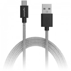 DigiPower - SP-DCF6 - DIGIPOWER(R) SP-DCF6 Charge & Sync Braided Micro USB Cable, 6ft