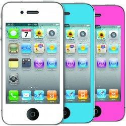 I.Sound - DGIPOD-1578 - Premium Custom Color Decals/Screen Protectors for iPhone® 4/4S