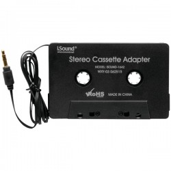 I.Sound - ISOUND-1642 - i.Sound(R) ISOUND-1642 Stereo Cassette Adapter