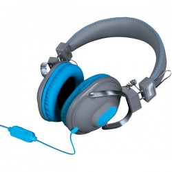 dreamGEAR / iSound - DGHM-5519 - DREAMGEAR DGHM-5519 HM-260 Headphones with Microphone (Blue)