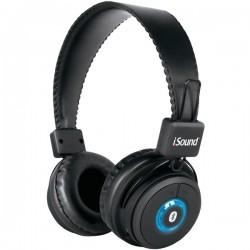 I.Sound - BT2500 - On Ear Bluetooth Headphones Black