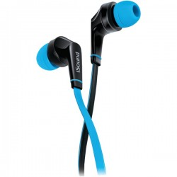 dreamGEAR / iSound - DGHP-5723 - DREAMGEAR DGHP-5723 EM-60 Earbuds with Microphone (Blue)
