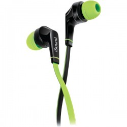 dreamGEAR / iSound - DGHP-5725 - DREAMGEAR DGHP-5725 EM-60 Earbuds with Microphone (Green)