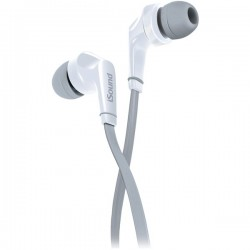 dreamGEAR / iSound - DGHP-5726 - DREAMGEAR DGHP-5726 EM-60 Earbuds with Microphone (White)