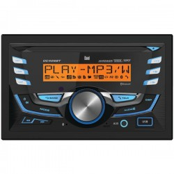 Dual - DC426BT - Dual(R) DC426BT Double-DIN In-Dash CD AM/FM Receiver with Bluetooth(R)