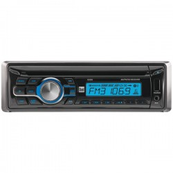 Dual - XD250 - Dual(R) XD250 Single-DIN In-Dash CD AM/FM Receiver