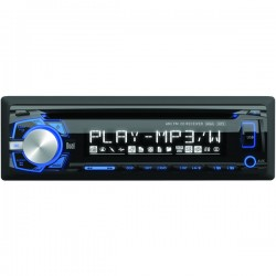 Dual - XDM260 - Dual(R) XDM260 Single-DIN In-Dash CD AM/FM Receiver