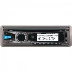 Dual - XDMA550BT - Dual(R) XDMA550BT Single-DIN In-Dash CD AM/FM Receiver with Bluetooth(R)