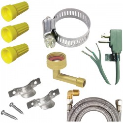 Certified Appliance - DWKIT1 - Certified Appliance Accessories(R) DWKIT1 Dishwasher Installation Kit