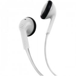ecko - EKU-DME-WHT - Ecko Unltd.(R) EKU-DME-WHT Dome Earbuds with Microphone (White)