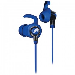 ecko - EKUEDGBL - Edge In Ear Headphones Blue/Black