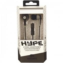 ecko - EKU-HYP-BK - Ecko Unltd.(R) EKU-HYP-BK Hype Earbuds with Microphone (Black)