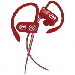 ecko - EKU-RNR2-RD - Ecko Unltd.(R) EKU-RNR2-RD Bluetooth(R) Runner2 Earhook Earbuds with Microphone (Red)