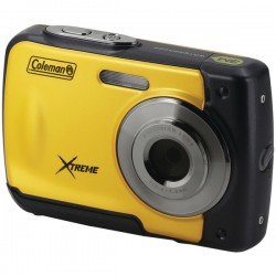 Coleman Company - C20WP-Y - COLEMAN C20WP-Y 18.0-Megapixel C20WP Xtreme HD Waterproof Digital Camera (Yellow)