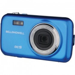 Bell+Howell - DC5-BL - Bell+Howell DC5 Compact Camera - Blue - 1.8 LCD - 4x - 640 x 480 Video