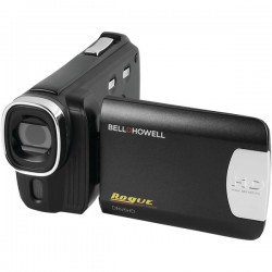 Bell+Howell - DNV6HD-BK - Bell+Howell DNV6HD Digital Camcorder - 3 - Touchscreen LCD - CMOS - Full HD - Black - 16:9 - Motion JPEG - 8x Digital Zoom - IR LED, Speaker - HDMI - USB - SDHC - Memory Card