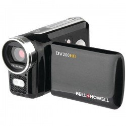 Bell+Howell - DV200HD - Bell+Howell DV200HD Digital Camcorder - 2 LCD - HD - Black - 16:9 - 4x Digital Zoom - USB - SDHC - Memory Card