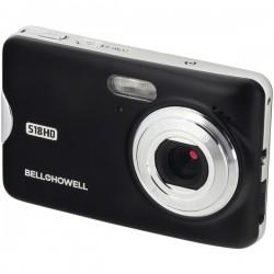 Bell+Howell - S18HD-BK - Bell+Howell(R) S18HD-BK S18HD 18-Megapixel HD Digital Camera (Black)