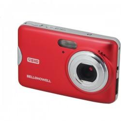 Bell+Howell - S18HD-R - Bell+Howell(R) S18HD-R S18HD 18-Megapixel HD Digital Camera (Red)
