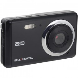Bell+Howell - S20HD-BK - Bell+Howell(R) S20HD-BK 20-Megapixel 1080p HD S20HD Digital Camera (Black)