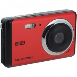 Bell+Howell - S20HD-R - Bell+Howell(R) S20HD-R 20-Megapixel 1080p HD S20HD Digital Camera (Red)
