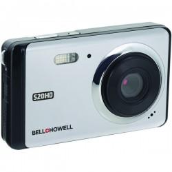 Bell+Howell - S20HD-S - Bell+Howell(R) S20HD-S 20-Megapixel 1080p HD S20HD Digital Camera (Silver)