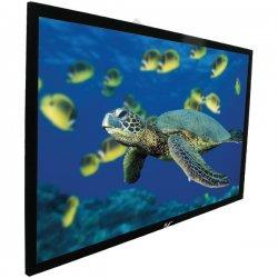 Elite Screens - R106WH1 - Elite Screens R106WH1 ezFrame Wall Mount Fixed Frame Projection Screen (106 16:9 Aspect Ratio) (CineWhite) - 52 x 92 - CineWhite - 106 Diagonal