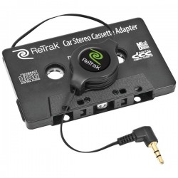 Retrak / Emerge - ETCASSETTEB - ReTrak(R) ETCASSETTEB Retractable Stereo Cassette Adapter