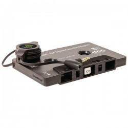 Retrak / Emerge - ETESCAS - ReTrak(R) ETESCAS Cassette Adapter with Built-in Microphone & Retractable Cord