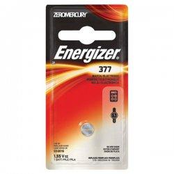 Energizer - 377BPZ - Energizer 377 Watch/Electronic Battery - Silver Oxide - 1.6 V DC