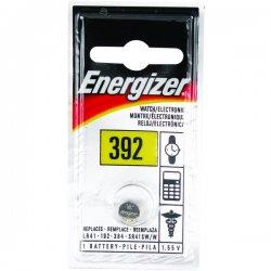 Energizer - 392BP - Energizer Silver Oxide Button Cell - Silver Oxide - 1.5V DC